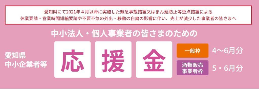 愛知県中小企業等応援金